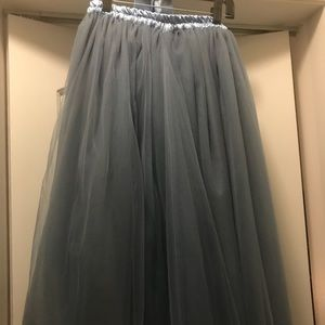 8ed5973f6 Skirts   Blue Elsies Attic Midi Tulle Tutu Skirt Size 810   Poshmark